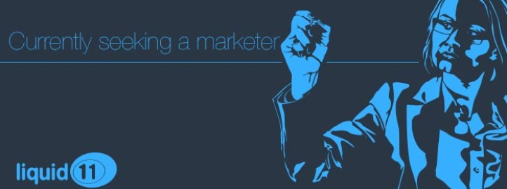 Seeking a Marketer
