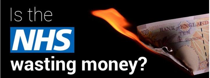 NHS-wasting-money